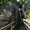 Chimney Rock S.P.-- a long way up