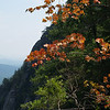 Chimney Rock S.P.-- fall colors mid-summer (too dry!)