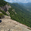 """""""Exclamation Point"""" view from trail; Chimney Rock S.P."""
