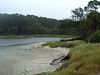 Lagoon at South end of Hunting Island SP