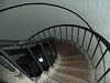 Spiral stairway in Hunting Island Lighthouse