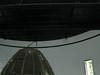 Old Fresnel lens, inside lighthouse