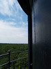 View from lighthouse deck, Hunting Island SP