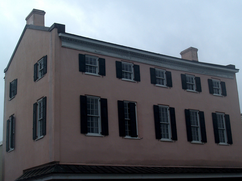 Old building in historic Beaufort, SC