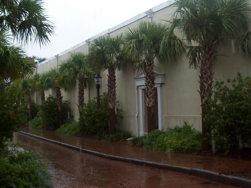 Side street in historic Beaufort, SC