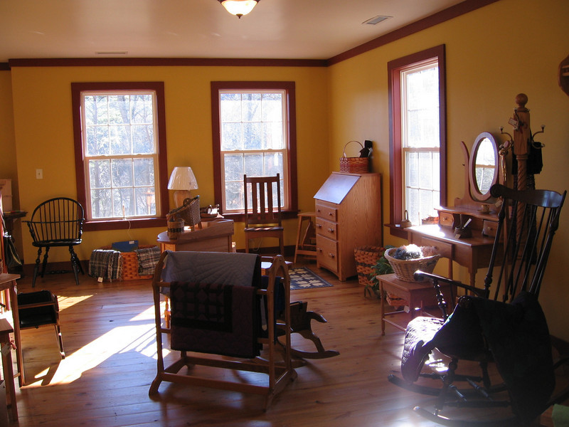 furniture, upstairs in Troyer's Country Amish Blatz