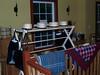 Amish hats, rugs, wall hangings upstairs