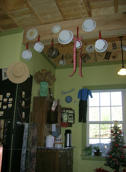 Coffee area, Troyer's store