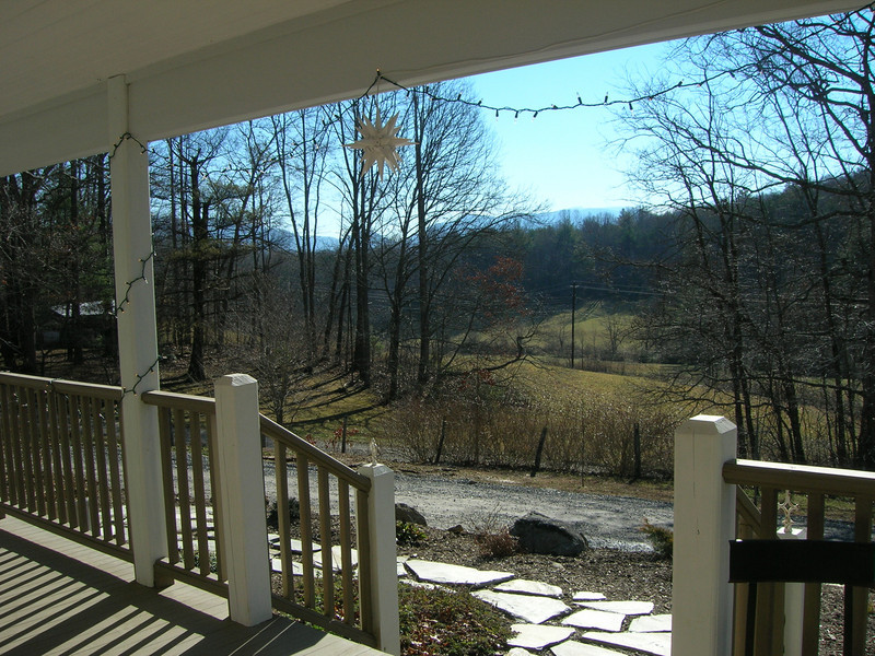 Front porch, Troyer's