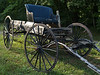 Old chariot on the property