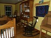 Furniture upstairs in Troyer's Country Amish Blatz