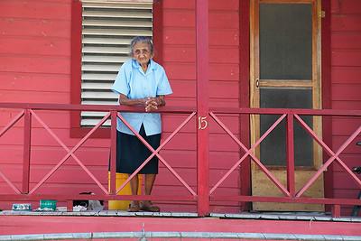Mrs. Carmella. San Ignacia, Belize