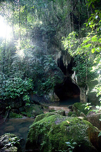 The Actun Tunichil Muknal Cave. Outside San Ignacio, Belize