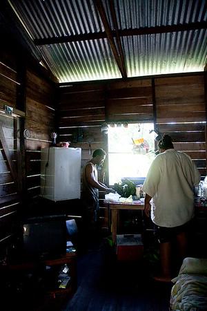 Home sweet home at Big Jay's House. San Ignacio, Belize