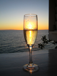 Sunset Champagne