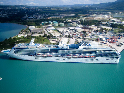 Island Princess in Montego Bay