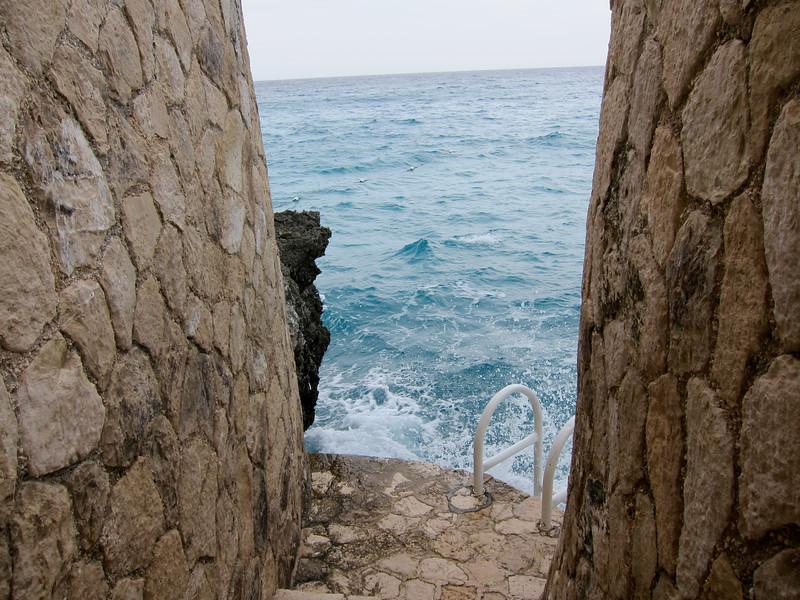 Cliffside below Sundancer