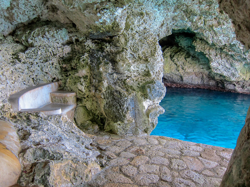 Moonbeam Cave Bench