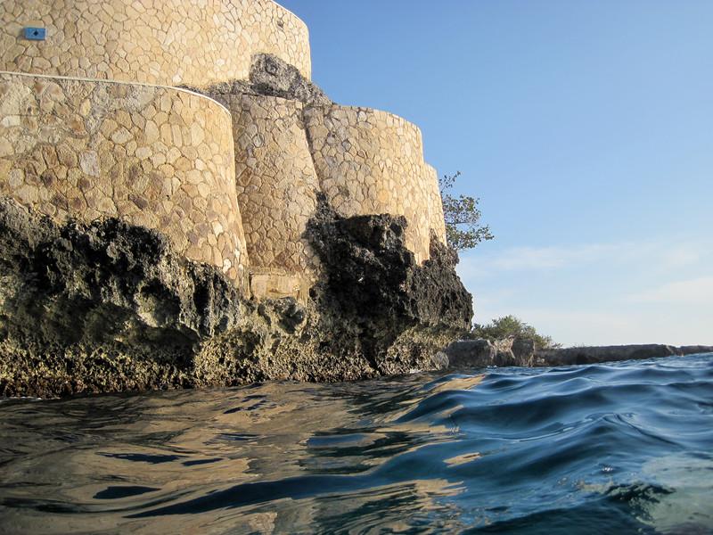 Cliffs near Sundancer from the Ocean