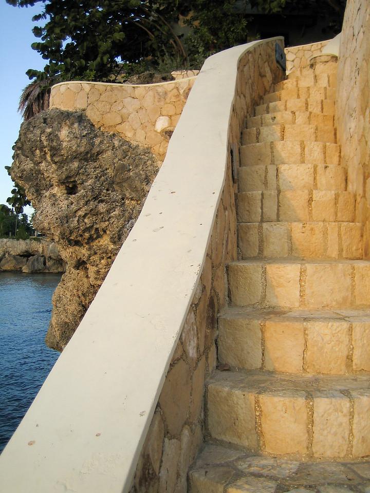 Moonbeam Cave Stairway
