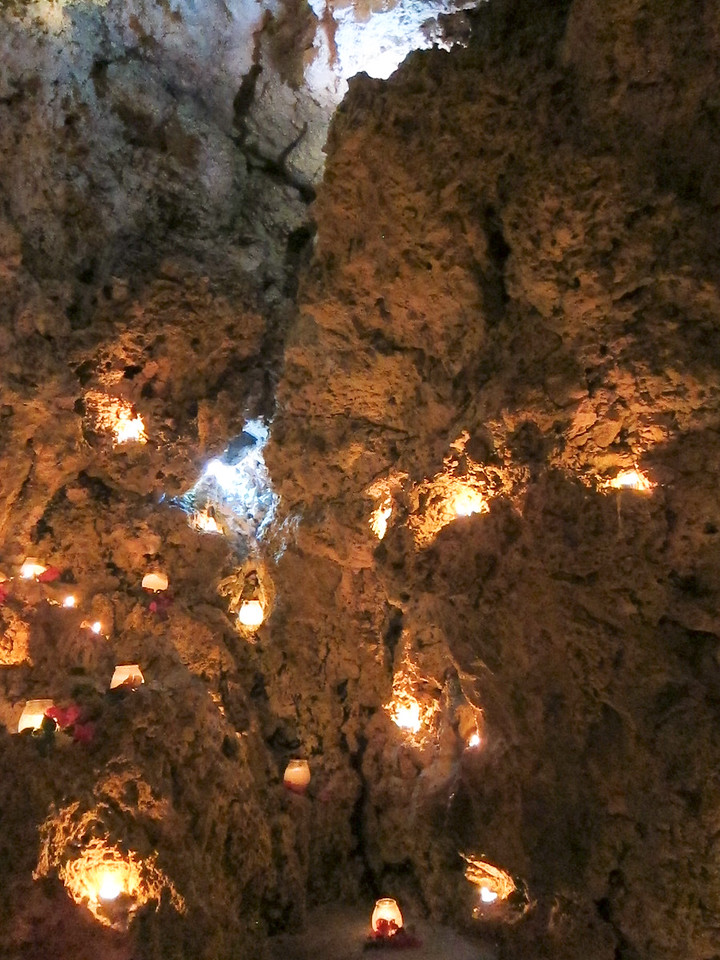Candles for Dinner in Seastar Cave