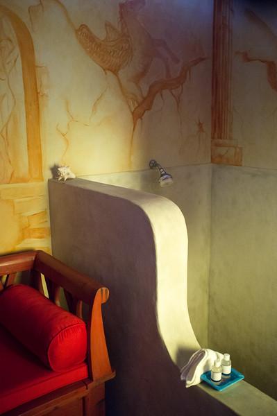 Shower at the Sauna