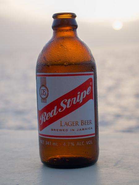 Red Stripe Cliffside below Sundancer
