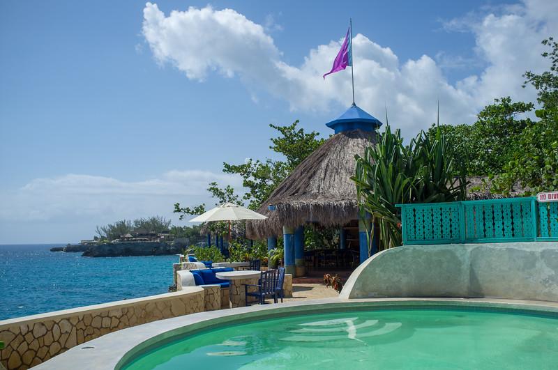 Pool towards Morning Lounge