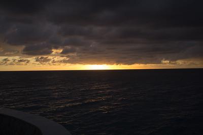 A cloudy sunset by Sundancer