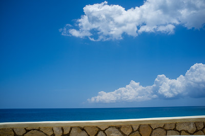 Horizon from the Pool