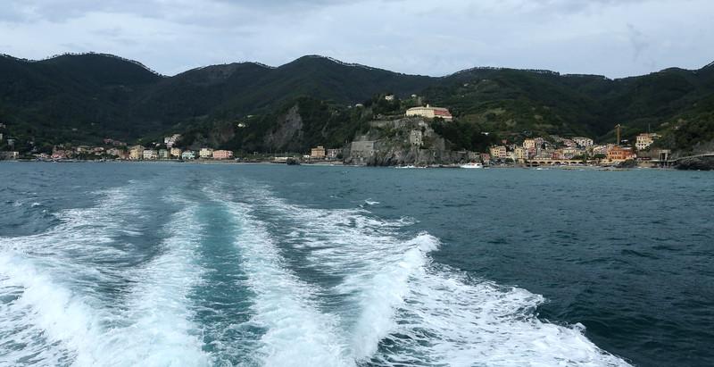Ciao to Monterosso.