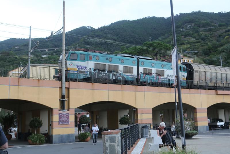 Monterosso al Mare Train Station.