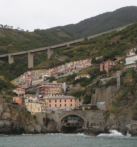 North side of Riomaggiore.
