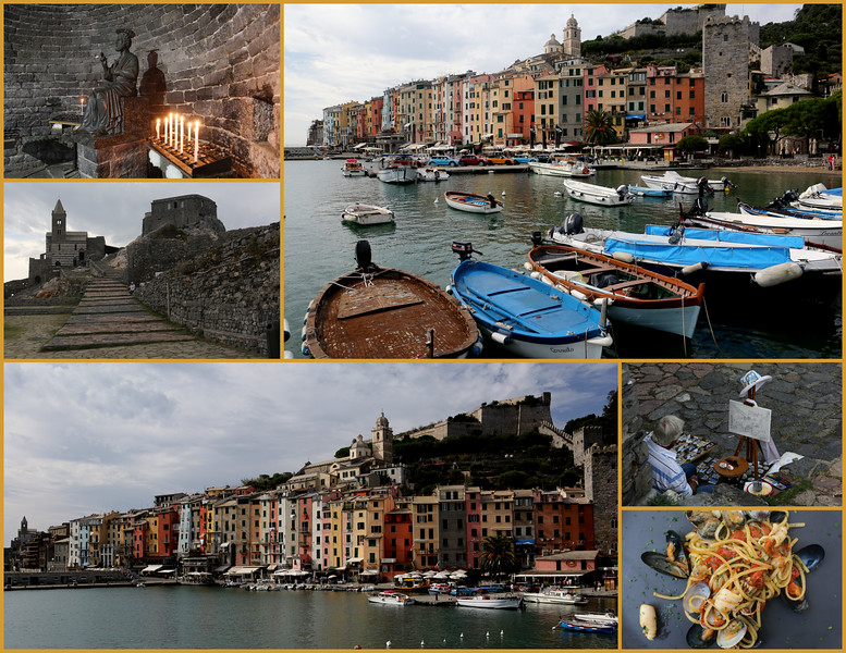Enchanting Portovenere including Grotto Byron.