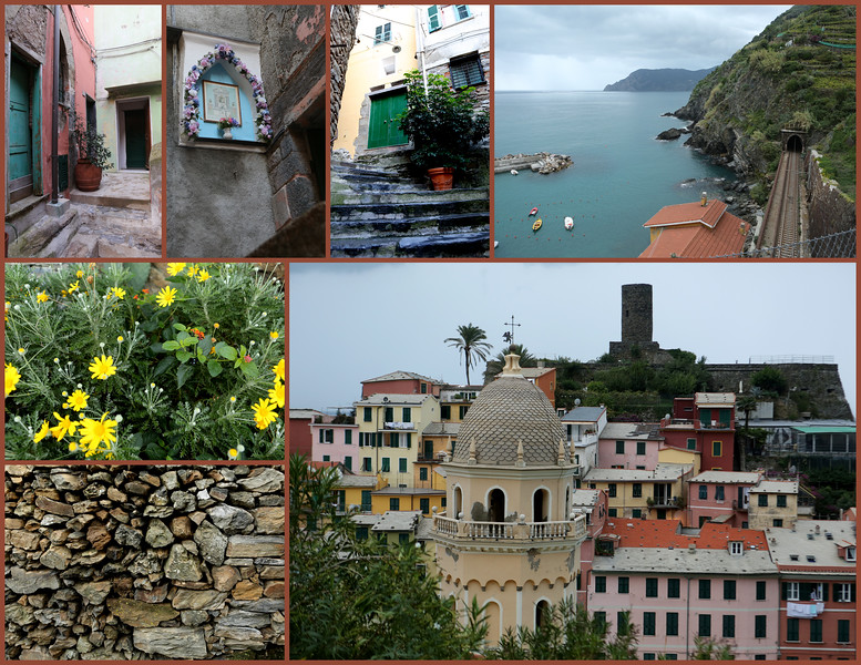 Wednesday, a new day and time to explore the terrace hills surrounding Vernazza.