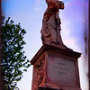 """St. Peter's Statue - with bellow the inscription: """"Hinc humilibus venia"""" (""""here forgiveness to the humble"""") was erected by Clemens VII (school of Lorenzetto)"""