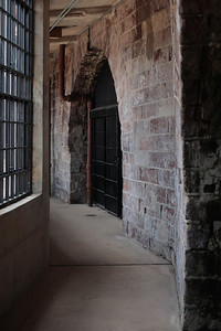 Inside Castle Williams, Governor's Island, New York City.