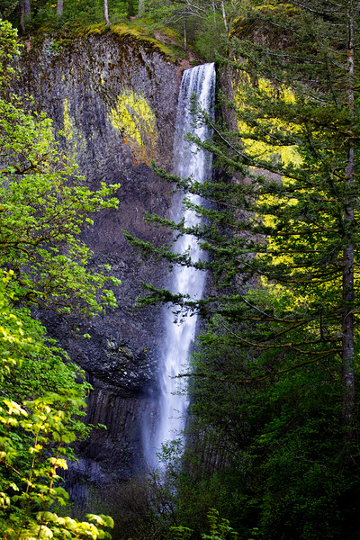 Our first waterfall: Latourel Falls.