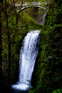 Lower Multnomah Falls.