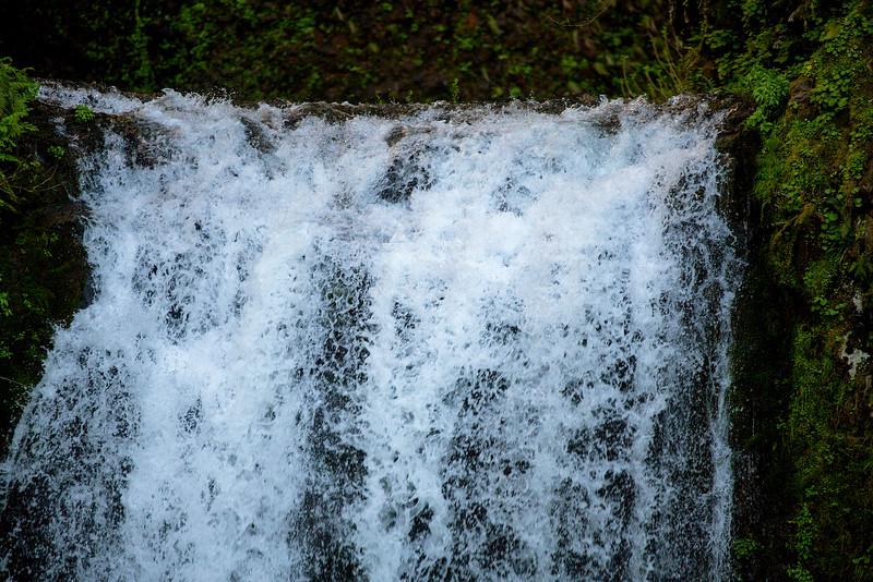 Lip of Multnomah Falls.