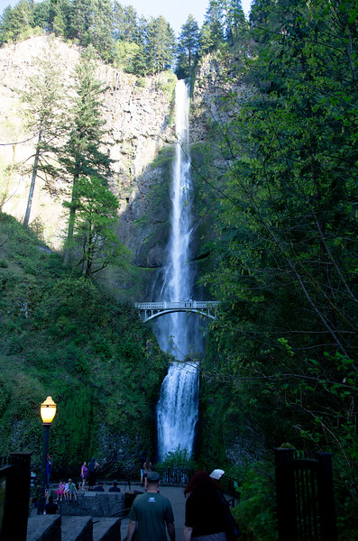 Another look at the full waterfall near sundown.