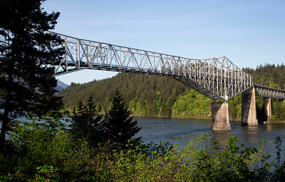 The Bridge of the Gods at Cascade Locks, OR.