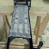 Radiator mosquito screen, for protection of clogging up the radiator rips with suicidal insects.