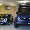 Before I had the pop-up roof done by ORB I traveld with a hardshell roof tent. I did a trip trough the alps, Switzerland, Austira, Italy, Slovenia with a friend and a trip through Germany and the Netherlands with my sister and her son with this set up.<br /> The Original Mini next to it (my third one, with a 23 year break between No. 2 and No. 3) was my daily driver before I set off to the Americas.