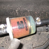 Fuel filter to protect aux tank transfer pump.