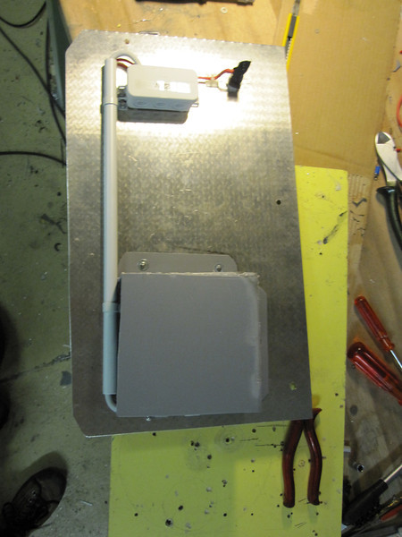 LH rear electrical panel prior to installation