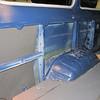 LH side during insulation work.