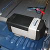 Webasto heater installation.