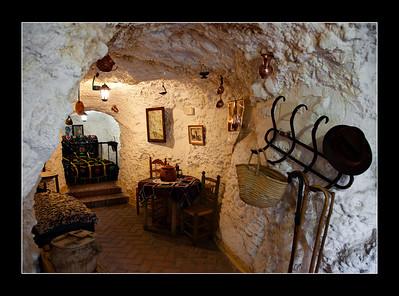 Las Cuevas del Sacromonte, Granada