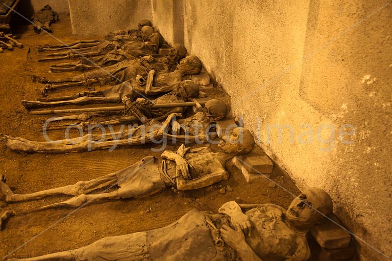 Bones in Capuchin Crypt